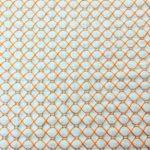 かわいい魚網模様の刺し子ふきんの作り方。刺し子糸として刺繍糸も使ってみました。