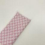 刺し子のキットを使ってハンカチを作りました。